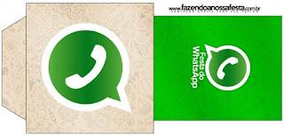 Bolsita de Té para imprimir gratis de WhatsApp.
