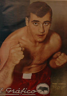 Primo Carnera became world heavyweight champion in New York in 1933