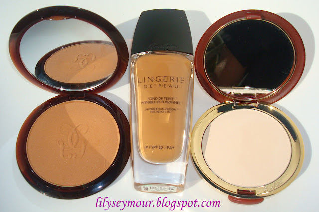 Guerlain Foundation, Terracotta Bronzing & Transparente Setting Powders