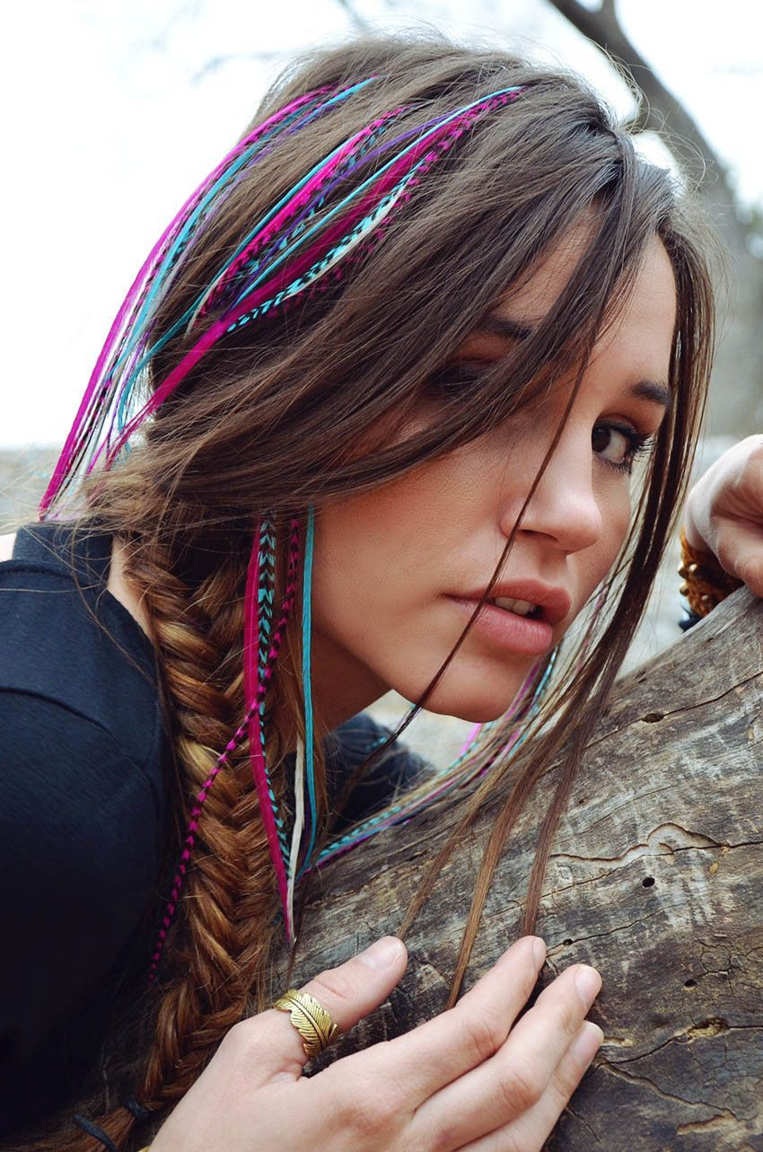 boho hairstyle idea for this fall