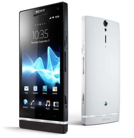 Best SmartPhones 2012: Sony Xperia S