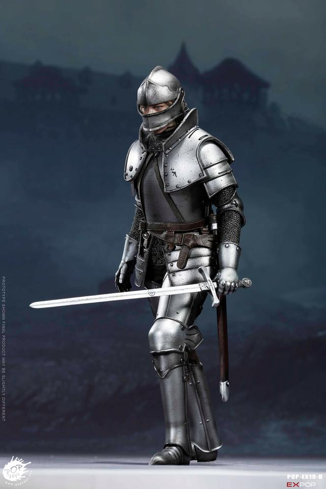 POP Toys EX019-A Charge Version 1//6 Scale Figure Saint Knight