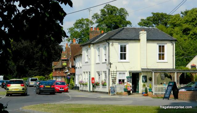 Vila de Chawton, onde morou Jane Austen
