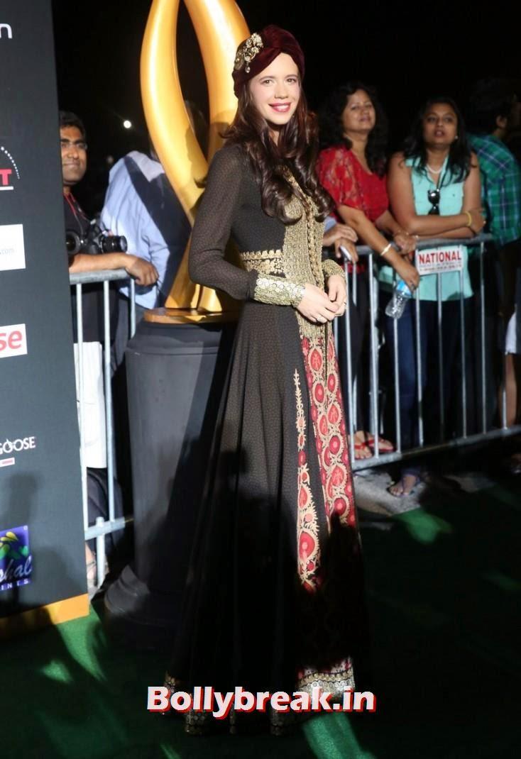 Kalki Koechlin, Bollywood Celebs sizzle on IIFA 2014 Green Carpet Pics