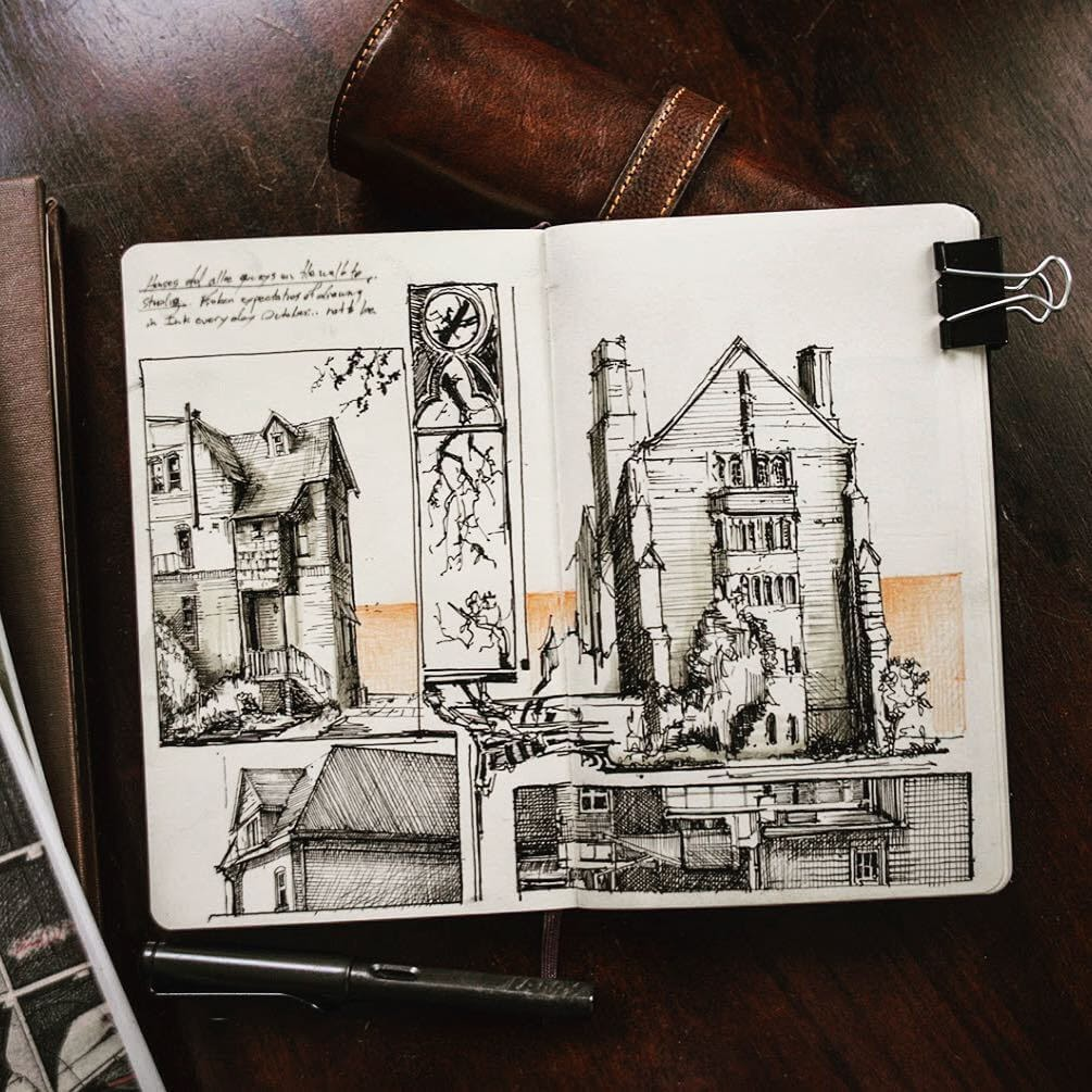 12-Fall-is-in-the-air-Jerome-Tryon-Moleskine-Book-with-Sketches-and-Notes-www-designstack-co