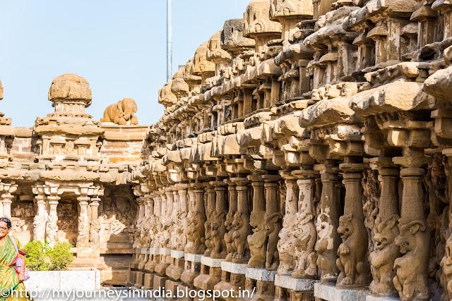 Kanchipuram Kailasanathar Temple Yali