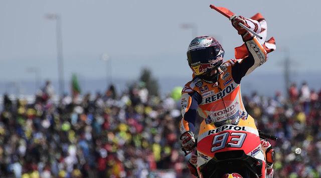 Marc Marquez menjadi kandidat utama juara dunia MotoGP 2017