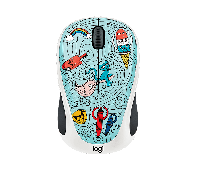 wireless mouse Logitech Doodle collection #review