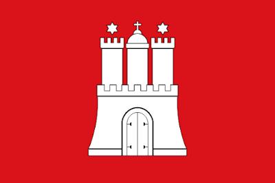 Bandera de Hamburgo