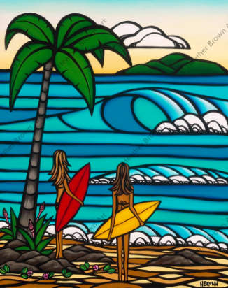 hawaii tropical art