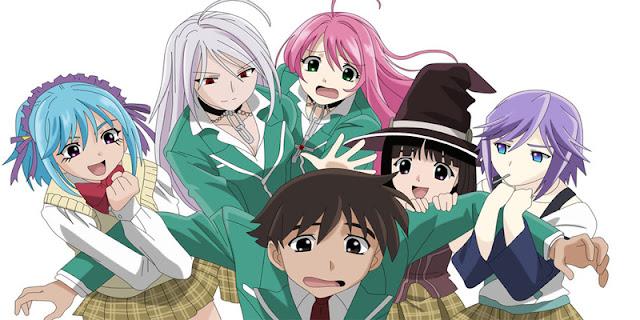 Rekomendasi Anime Romance bertemakan Fantasy ecchi
