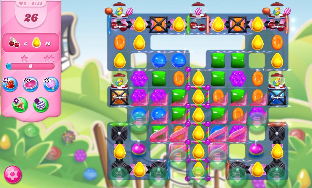 Candy Crush Saga level 6125
