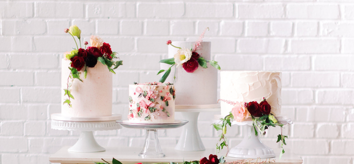 A Stylish Fête Full of Color, Cakes & Creativity!
