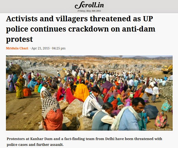 http://scroll.in/article/722030/activists-and-villagers-threatened-as-up-police-continues-crackdown-on-anti-dam-protest
