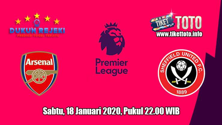 Prediksi Arsenal VS Sheffield United 18 Januari 2020