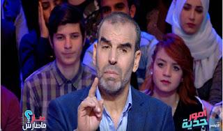بالصور / قناة الحوار التونسي تطرد فوزي بن قمرة !