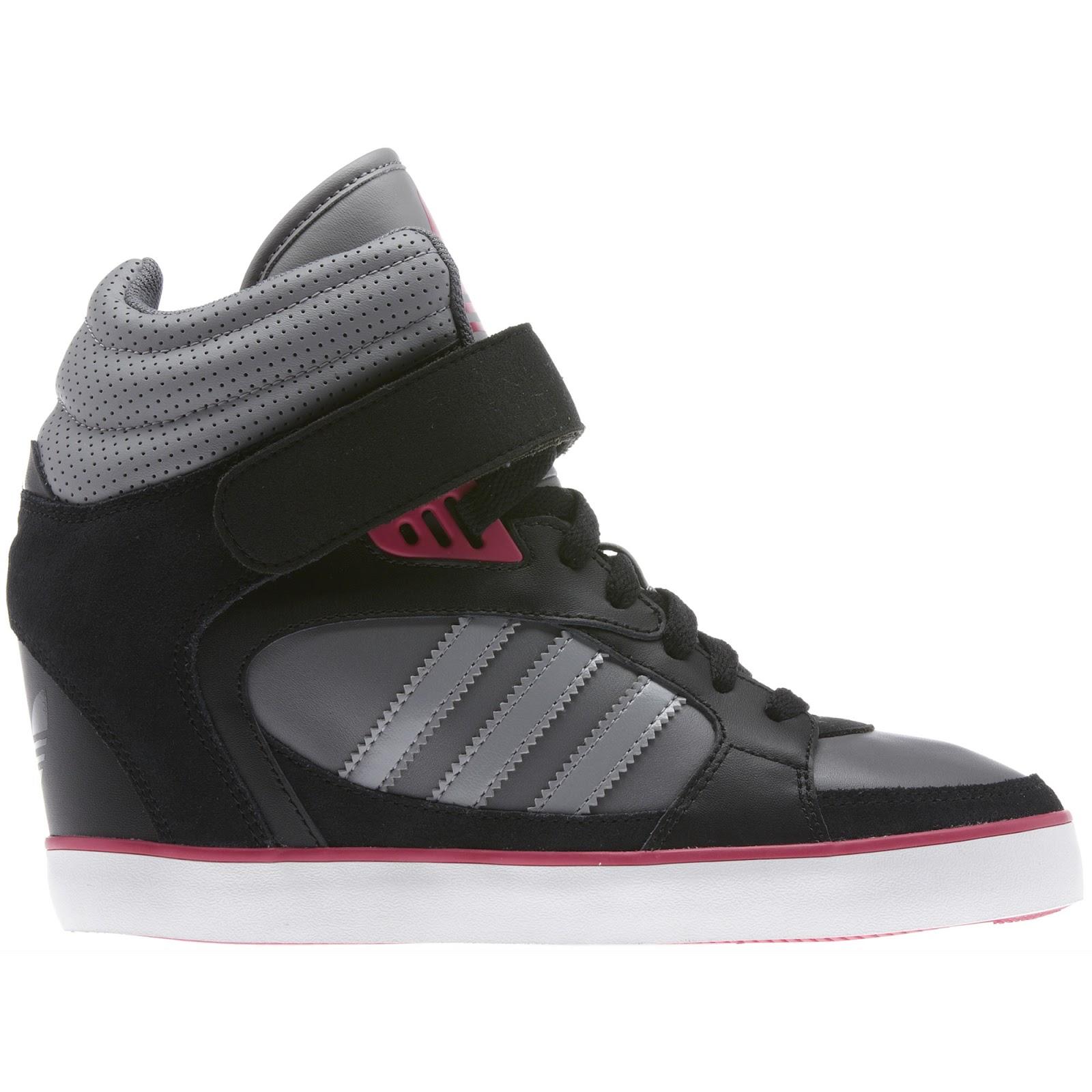 Adidas Wedge-Heeled Sneakers - Cars & Life Blog