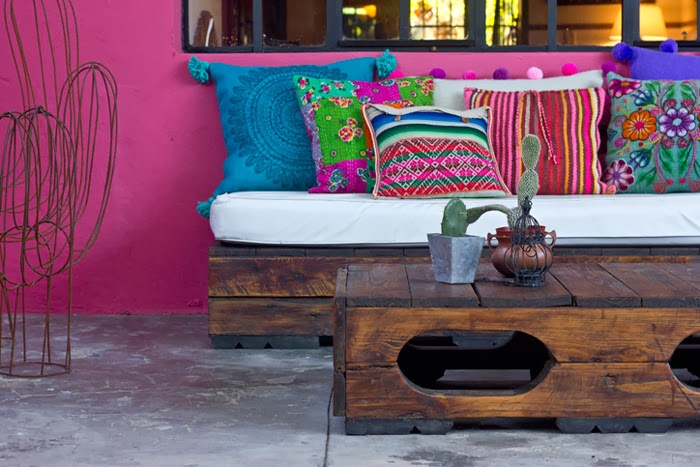 patio rosa