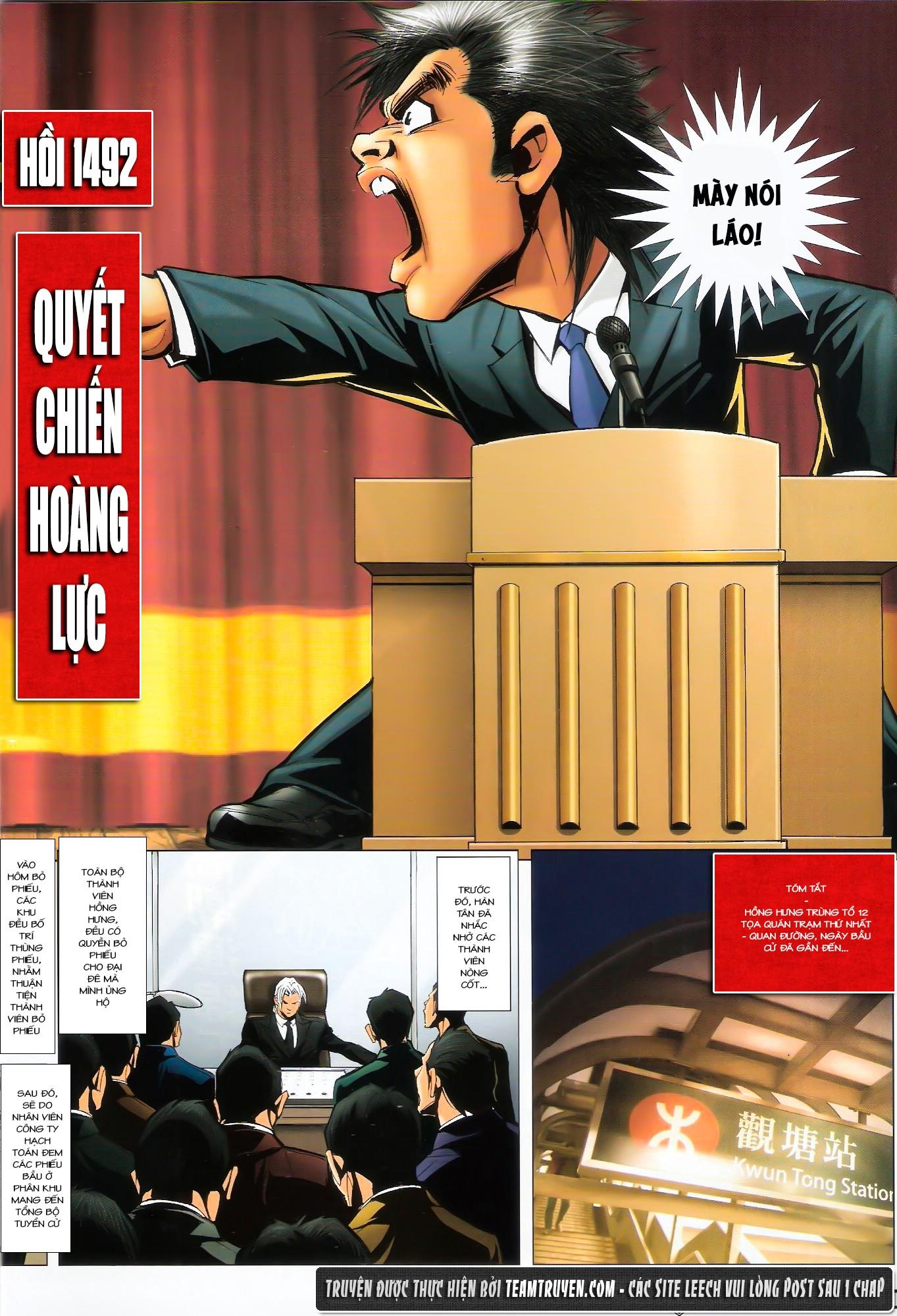 Người Trong Giang Hồ NetTruyen chap 1492 - Trang 2