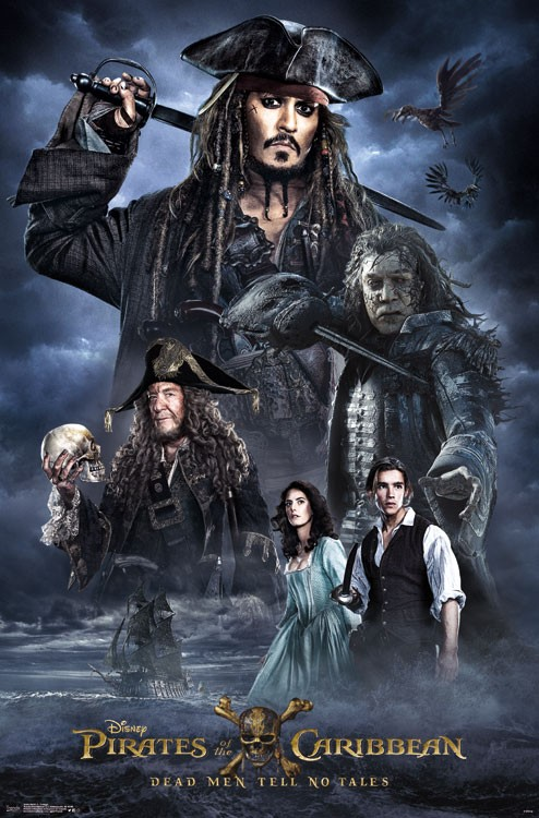 Pirates of the Caribbean: Dead Men Tell No Tales [2017] [Latino] [DVDR] [NTSC]