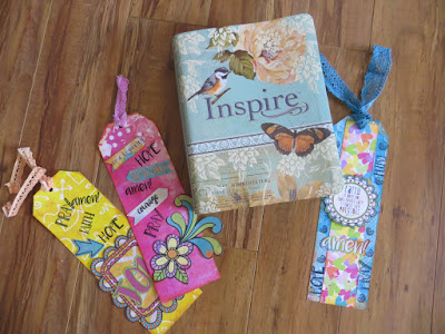 Believe Bookmarks by Lynn Shokoples for BoBunny