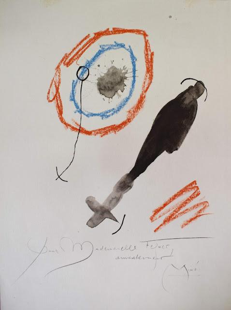 Joan Miró quelques fleurs féquet litografía
