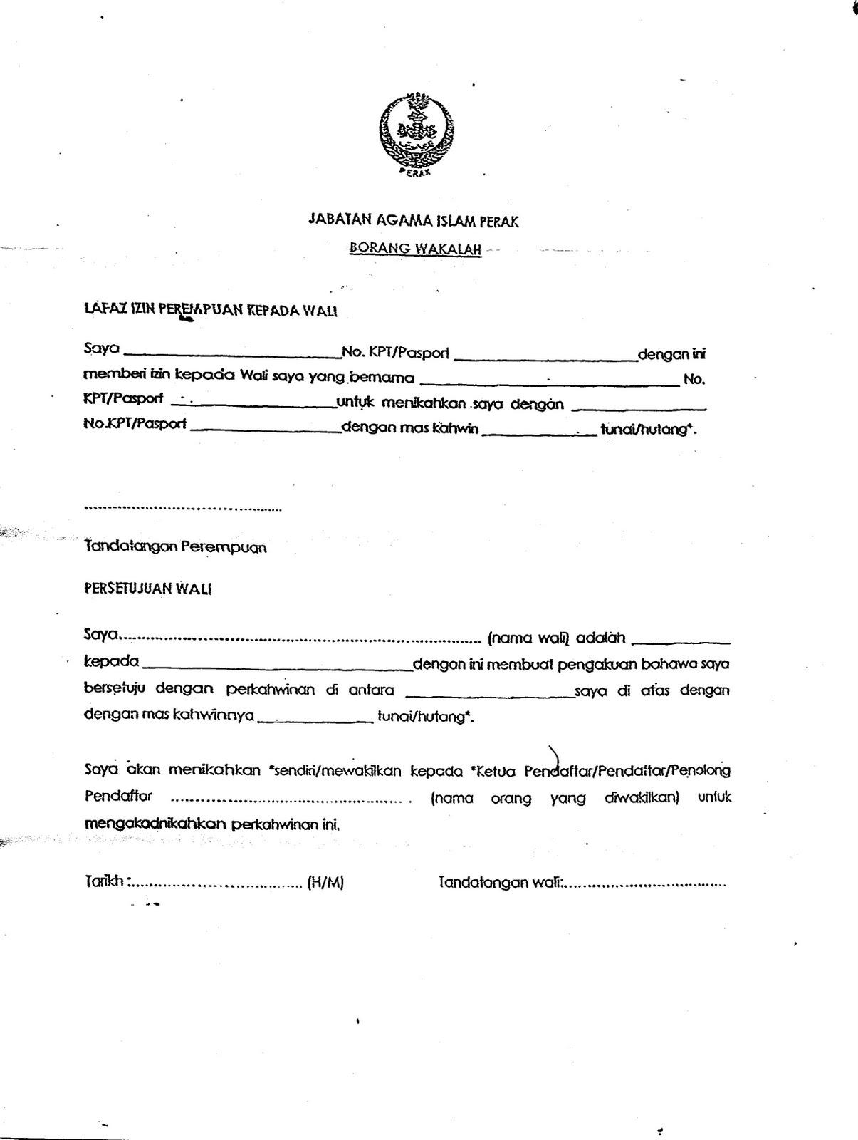 Contoh Surat Akuan Bujang Negeri Kedah Cuitan Dokter