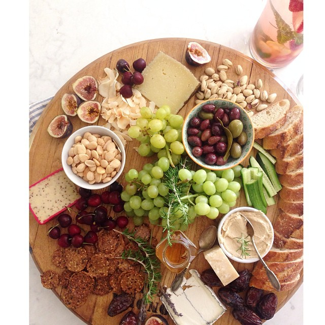 beautiful cheese board