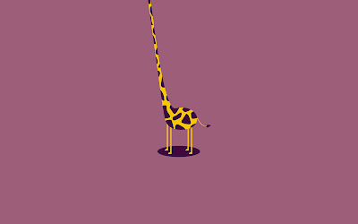 Vector giraffe | tall
