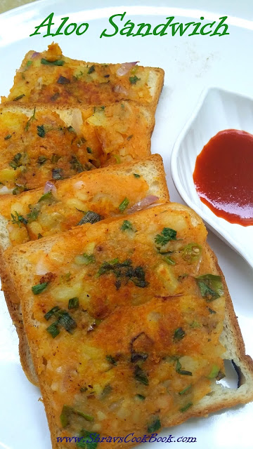 Aloo Sandwich - Potato Sandwich