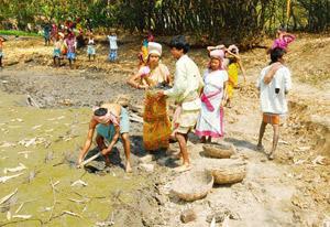 rural job scheme Darjeeling hills