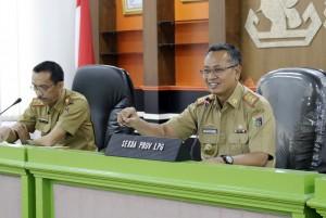 Untuk Menyambut HARGANAS Pemprov Lampung Minta Kabupaten/kota Persiapkan Anjungan Semeriah Mungkin