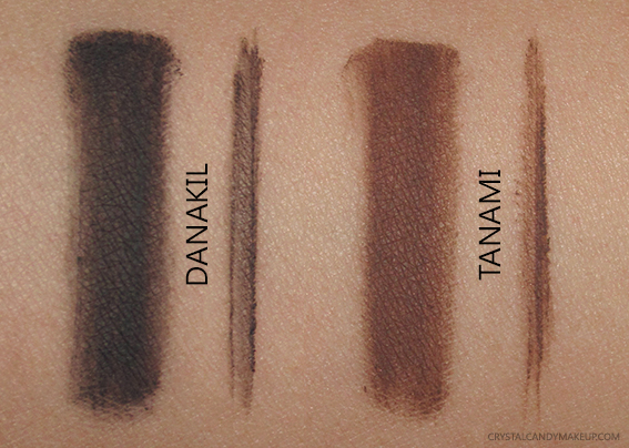 NARS Audacious Collection Fall 2016 Swatch Brow Defining Cream Tanami Danakil