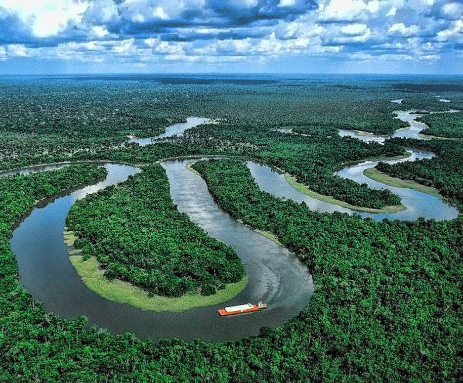 Rio Congo na África