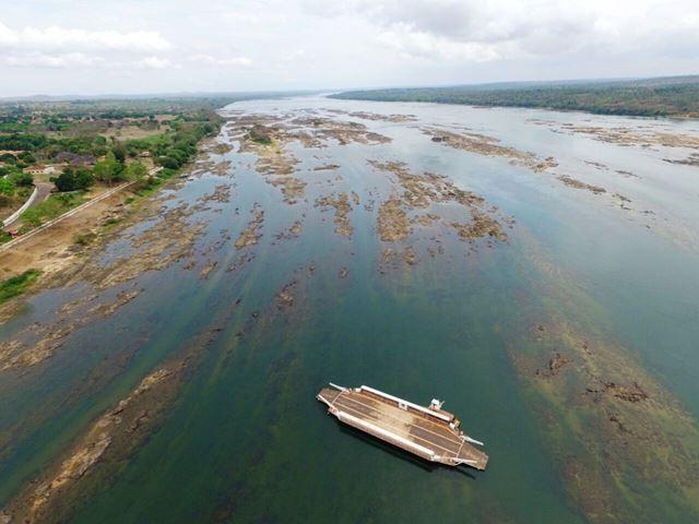 Navegação e abastecimento comprometidos