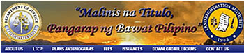 LRA website