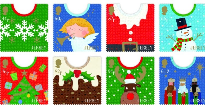 New Stamps on Christmas