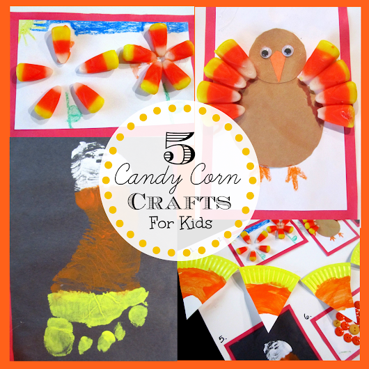 5 Candy Corn Crafts