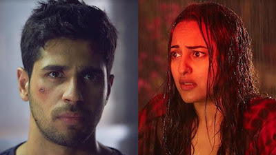 Sidharth Malhotra & Sonakshi Sinhaa HD Image Of Ittefaq Movie