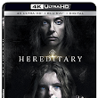 Lionsgate is proud to announce Hereditary, starring Academy Award® nominated Toni Collette, arriving on 4K Ultra HD™ Combo Pack, Blu-ray™ Combo Pack, and DVD on September 4th.