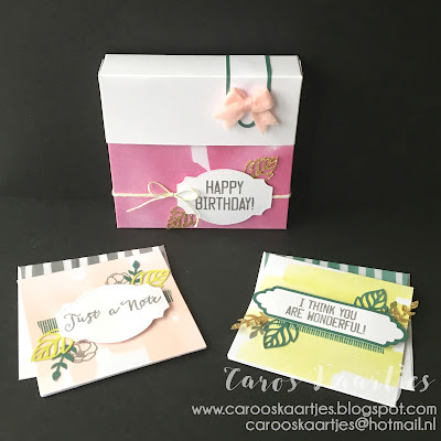 Stampin' Up! producten zijn in Nederland o.a. verkrijgbaar via Caro's Kaartjes; carooskaartjes@hotmail.nl