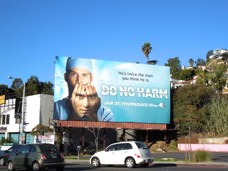 Do No Harm season 1 NBC billboard