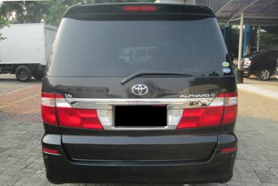 Eksterior Toyota Alphard Gen1 Prefacelift