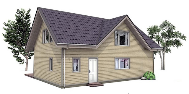 Denah Rumah Minimalis Idaman Sederhana Tipe 102