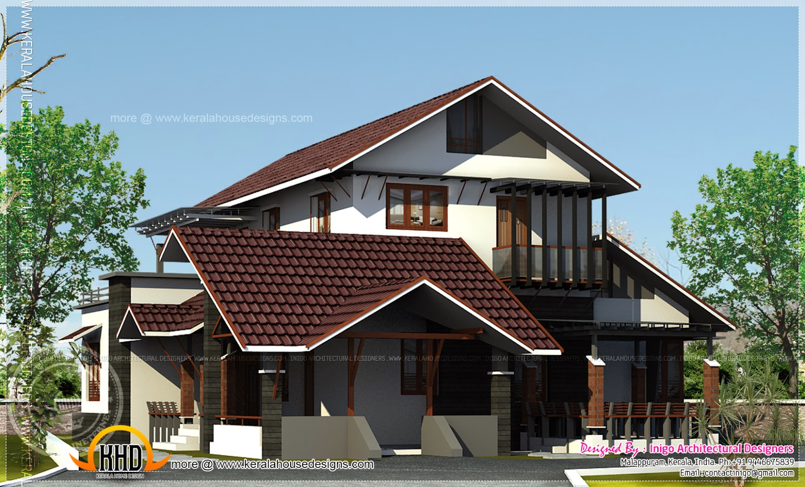 1500 4 bed room home renovation kerala home for 1500 sq ft house plans kerala
