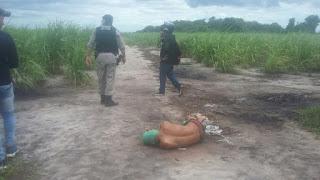 Homem é encontrado com mãos e pés amarrados em canavial na Paraíba