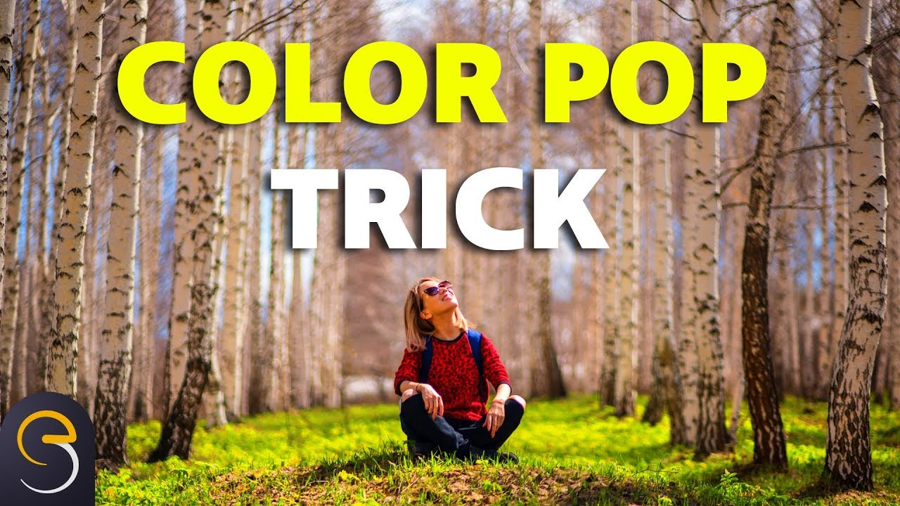 TRICK to Make Colors Pop in Photoshop CC with Channel Mixer