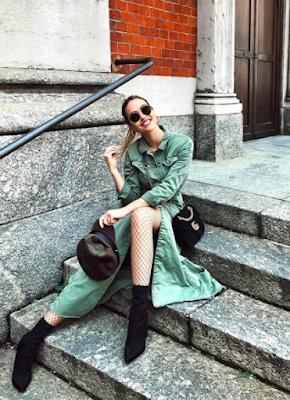 Italské módní blogerky: top 10 královen Instagramu - Giulia Gaudino