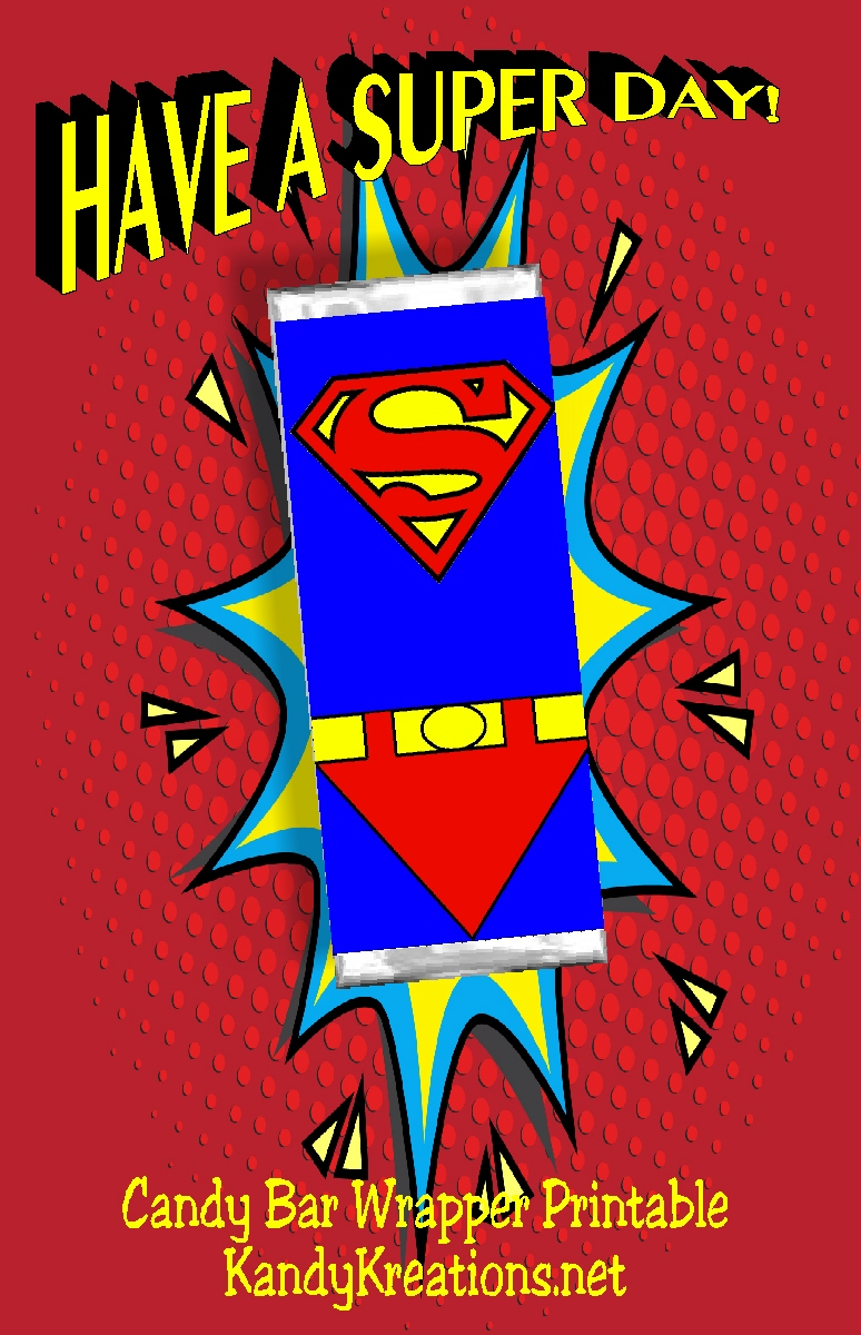 superheroes hershey candy bar wrappers personalized.html