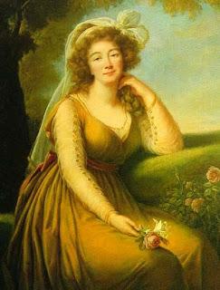 Portrait of Madame du Barry by Louise Élisabeth Vigée Le Brun, 1789